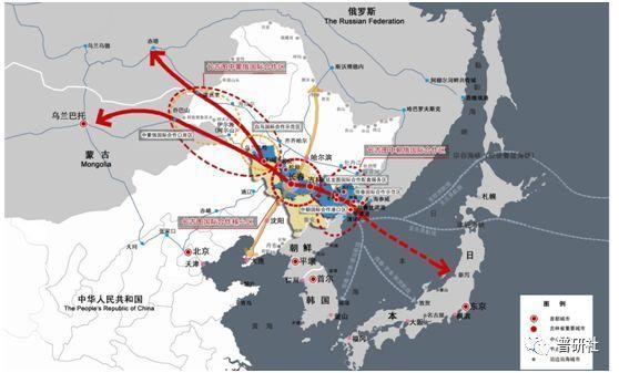 东北振兴关键在于一带一路北线战略