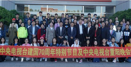 东北师大人文学院70余名舞蹈师生参加央视国庆
