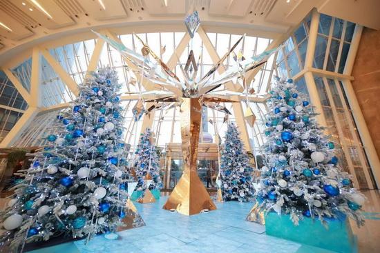 上海ifc商场:乐享《冰雪奇缘2》圣诞之旅