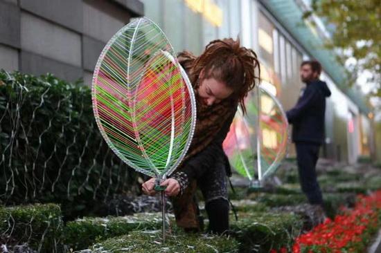 """上海环贸iapm商场将举办""""光幻森林""""灯光艺术"""