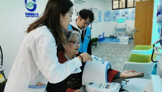 """城市治理增加""""健康氧细胞"""":上海首批80家健康小屋建成"""