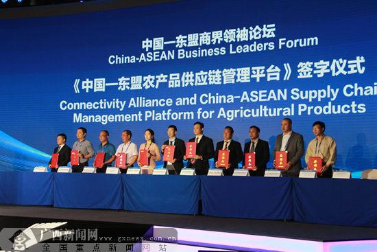 中国-东盟商界领袖论坛在南宁举行